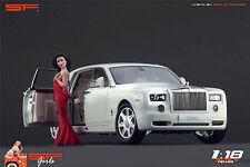 1/18 Long red dress Girl VERY RARE !! figure for1:18 CMC Autoart Ferrari BBR