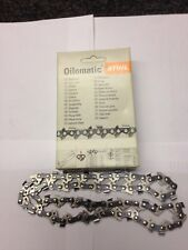 "NEW GENUINE  STIHL CHAINSAW CHAIN. 3610 000 0040  40 DRIVE LINKS  3/8""  1.1"