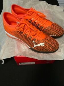 BRAND NEW WITH ORIGINAL BOX PUMA ULTRA 3.1 TT ORANGE-BLACK SNEAKER SHOES SIZE 12