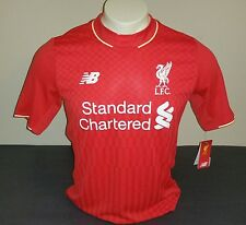New Balance Liverpool FC Home Jersey, Red, Size S