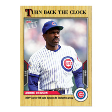 2021 TOPPS TURN BACK THE CLOCK #175 ANDRE DAWSON CHICAGO CUBS 300TH STOLEN BASE