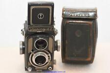 "Yashica 44 TLR Camera inc case ""Yashica Baby Grey"""