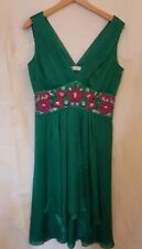 Monsoon Original - Occasion Dress - Deep Green - UK14 - Excellent Condition
