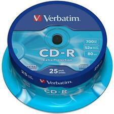 Verbatim Cloche 25 CD-R Protection Supplémentaire 700MB