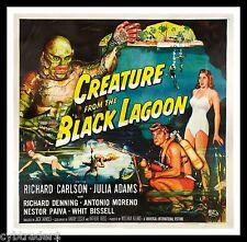 Creature From The Black Lagoon  Refrigerator / Tool Box Magnet Man Cave Room