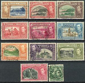 s638776 Trinidad and Tobago - Sc#51//60 Used