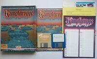 AMIGA - KAMPFGRUPPE - Turn-based Strategy Tactics Game - SSI 1988 - TESTED