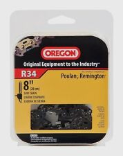 "New OREGON R34 Replacement Pole Saw Cutting Chain 8"" Remington Poulan Saws NIB!!"
