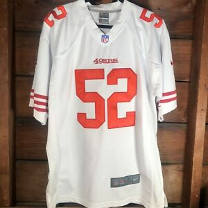 Official NFL Nike On Field Jersey Patrick Willis 49ers Jersey. Size Large