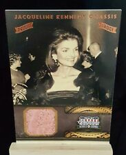 ☆ Jacqueline Kennedy Onassis ☆ Proof Relic ☆ Panini Trading Card 2012 ☆