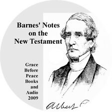 Barnes Notes NT Christian Bible Commentary PDF eBook CD iPad PC Droid Compatible