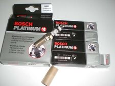 Set of 4 Bosch 4488 Platinum +4 Car Truck Auto Spark Plugs HGR8MQP Various Makes