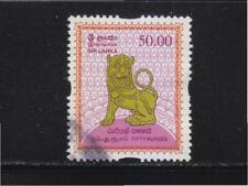 SRI LANKA CEYLON 2008 LION 50 RUPEES STAMP SG#1960 IN FINE USED CONDITION