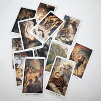 78 Nature Tarot Cards Deck Full English Mysterious Animal Playing Board Game AM1