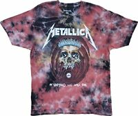 New Men's Metallica In Vertigo You will Be Tie Dye Vintage Retro T-Shirt Tee