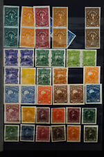 South America 1800's Stamp Proof Collection Good Honduras & El Salvador Sections