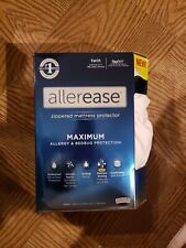 AllerEase waterproof allergy and Bed Bug zippered mattress Protector - Twin