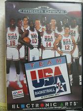 Jeu TEAM USA BASKETBALL pour Sega MEGA DRIVE (MD)