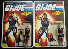 G.I. Joe 1985 Tomax and Xamot Crimson Twins 100% Complete Carded un-punched!