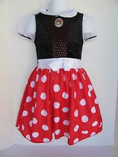 DISNEY MINNIE MOUSE GIRLS DRESS COSTUME SIZE 4-5
