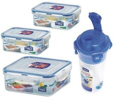 lock & lock lock n lock lunch box set  4PC