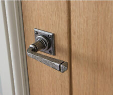 ANVIL 33874/S PEWTER AVON LEVER ON ROSE SPRUNG DOOR HANDLE SET COUNTRY COTTAGE