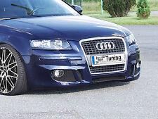 Sportface Frontstoßstange Stoßstange für Audi A3 8P Facelift (Singleframefront)