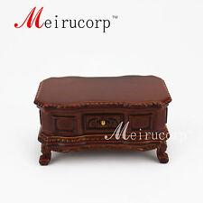 Dollhouse Fine 1:12 scale  miniature furnitureElegant  Hand carved tea table