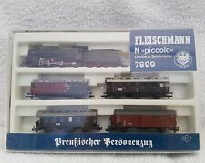 fleischmann piccolo n gauge 7899 KPEV 4-6-0 limited edition box set. TESTED