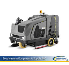 New Karcher B 300 R Lpg Sweeper-Scrubber/right scrub deck/tall overhead guard