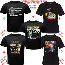 Jeff Lynne ELO Concert Tour Album T-Shirt All color& Size S,M,L~5XL,Kids,Infant