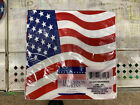 Paper Lunch Napkins USA Flag Patriotic American Stars Stripes  (1 package of 18)
