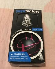 Paul Kerbel Horizon Black With Pink Splash Yoyo by YoYoFactory