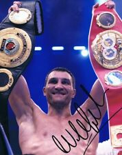 More details for signed wladimir klitschko autograph boxing photo heavyweight champion