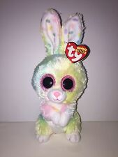 "TY BUBBY EASTER BUNNY 6"" BEANIE BOOS-NEW W/TAG*SOFT & ADORABLE-IN HAND-SHIPS NOW"