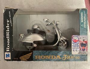 NEWRAY Honda Joker 90 - Silver Scooter ROADRIDER COLLECTION ORIGINAL PACKAGING