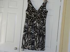 M&S AUTOGRAPH pure silk dress, mocha-mix size 16, excellent condition