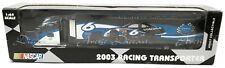 Team Caliber NASCAR Mark Martin #6 2003 Viagra Ford Racing Transporter 1/64 NIB