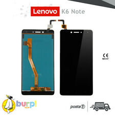 LCD TOUCH SCREEN DISPLAY ASSEMBLATO LENOVO K6 NOTE K53A48 BLACK NERO TOP QUALITY