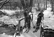 Negativ-Frauen-Ski-Fahren-Cute-German-Woman-Girls-Ski-1930er Jahre-1930s-3