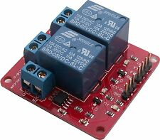 Twin 10A Relay with 20A current sensing, Arduino, Raspberry Pi BV110