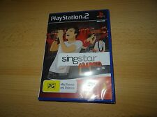 Singstar AMPED ps2 UK PAL VERSION NEW SEALED