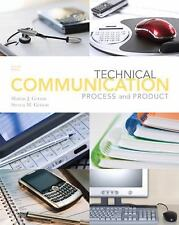 Technical Communication Process and Product, Sharon J. Gerson, Steven M. Gerson,