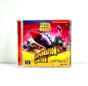 SchoolHouse Rock Exploration Station Science Ages 6-10 PC CD Rom Home School