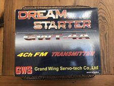 Dream Starter GWT-4A Radio System 4Ch FM Transmitter GWS Helicopter RC