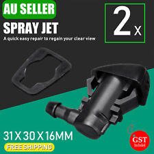 2x Windshield Wiper Spray Jet Washer Nozzle for Jeep Grand Cherokee 2005-2018 AU