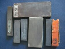 Vintage Group Sharpening Stones - Stanley SWATY Crystolon Kennametal Bear Creek+