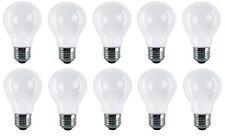 10 x 40w Watt E27 Frosted Standard Edison GLS Screw in Pearl Light Bulbs Lamps