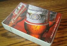 Collectable Budweiser Beer Playing Cards Poker Size Cards #1 Deck Photo Cards