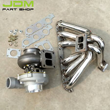 Exhaust Manifold+turbo GT45 ar0.84 water for Lexus IS300 GS300 2JZGE 2JZ-GE 4a